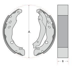 Brake-Shoe-Measurements